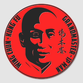 "Grand Master - Ip Man (""Wing Chun - Kung Fu"") Sticker"