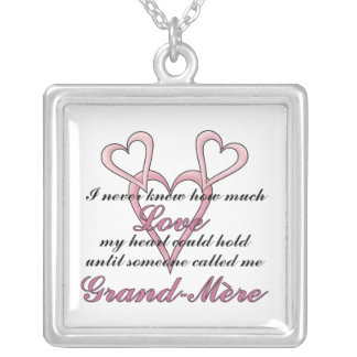 Grand-mère (I Never Knew) Mother's Day Necklace