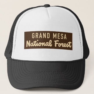 Grand Mesa National Forest Trucker Hat