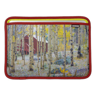 Grand Mesa Solitary cabin in a forest Sleeve For MacBook Air