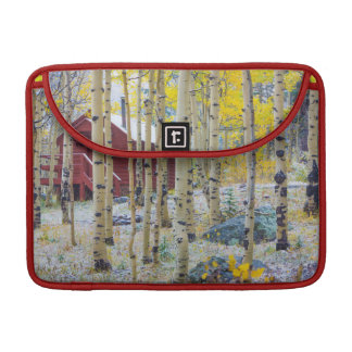 Grand Mesa Solitary cabin in a forest Sleeve For MacBook Pro