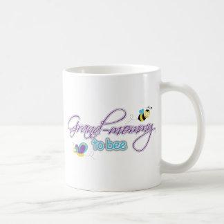 Grand Mommy To Be Classic White Coffee Mug