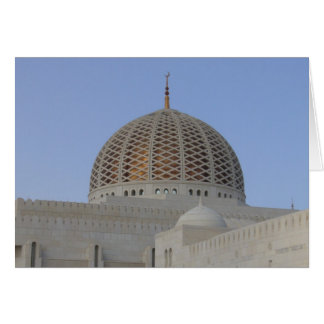 grand mosque dome card