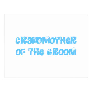 Grand Mother of the Groom Postcard