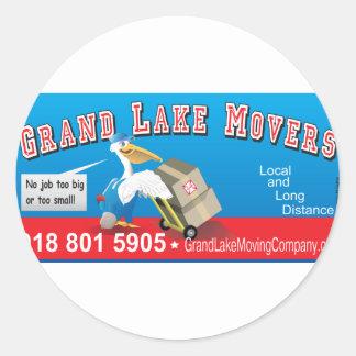 Grand-Movers_6-inch Pegatina Redonda