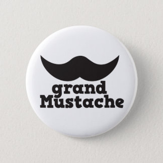 Grand Mustache Button