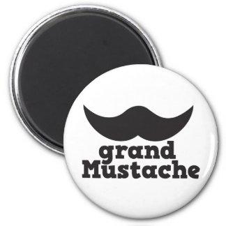 Grand Mustache Magnets