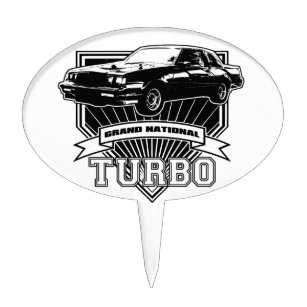Turbo Cake Toppers Zazzle