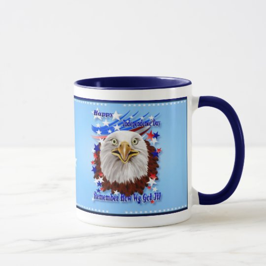 Grand Ol' Eagle-Independence Day  Mugs