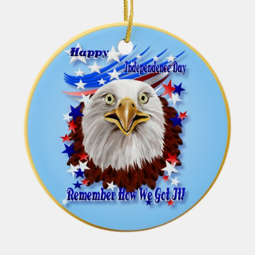 Grand Ol' Eagle-Independence Day  Ornament