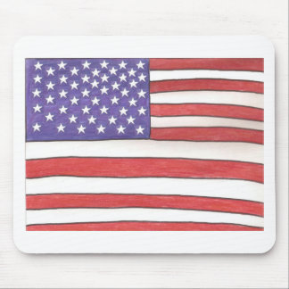 grand ol Flag Mouse Pad