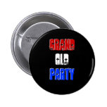 """""""Grand Old Party"""" Button"""