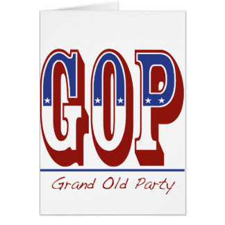 Grand Old Party Greeting Cards
