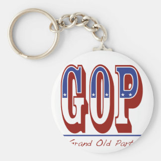 Grand Old Party Keychain