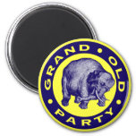 Grand Old Party Refrigerator Magnet