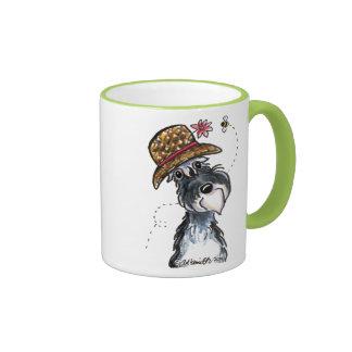 Grand Ole' Schnauzer Ringer Coffee Mug