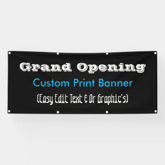 Grand Opening Advertiment Banner