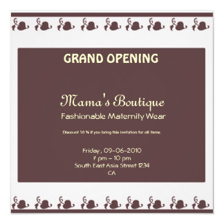 Grand opening boutique cards greeting photo cards zazzle grand opening invitation stopboris Gallery