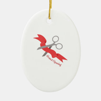 Grand Opening Christmas Tree Ornaments