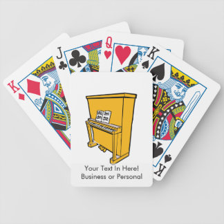 grand orange upright piano with music.png bicycle playing cards
