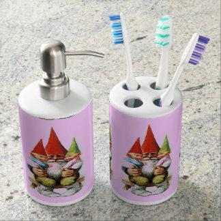 Grand Pa Gnome Toothbrush Holder/ Soap Dispenser
