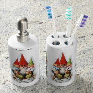 Grand Pa Gnomes Toothbrush Holder/ Soap Dispenser