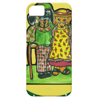 Grand Parent Doxies iPhone 5 Covers