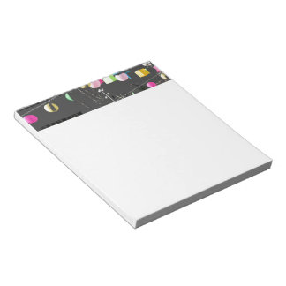 Grand Park multicolor Lanterns Notepad