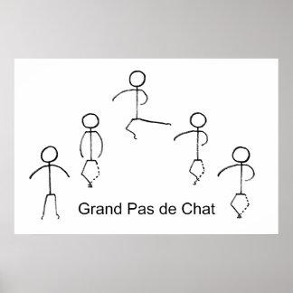 Grand Pas de Chat Poster