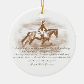 Grand Passion Ceramic Ornament