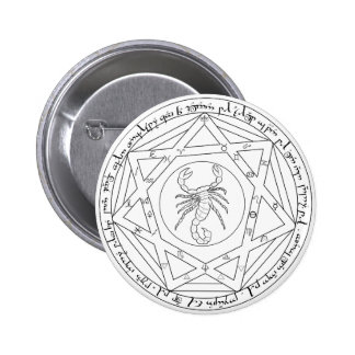 Grand Pentacle 2 Inch Round Button