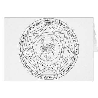 Grand Pentacle Card