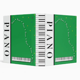 "Grand Piano 1.5"" Binder"