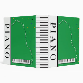 "Grand Piano 2"" Binder"