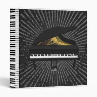 Grand Piano 3D Model: Custom Binder