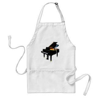 Grand Piano Adult Apron