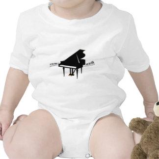 Grand piano and Keyboard Shirt