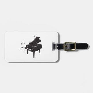 Grand Piano Bag Tag