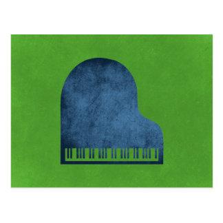 Grand Piano Blues Postcard