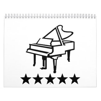 Grand Piano Calendar