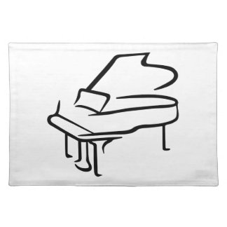 Grand Piano Cloth Placemat