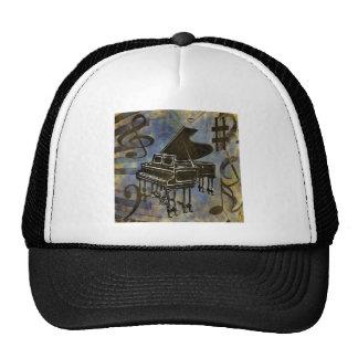 Grand Piano Collage Trucker Hat