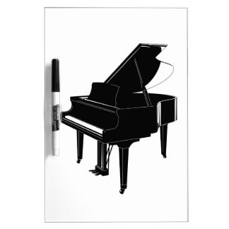 Grand Piano Dry-Erase Whiteboards