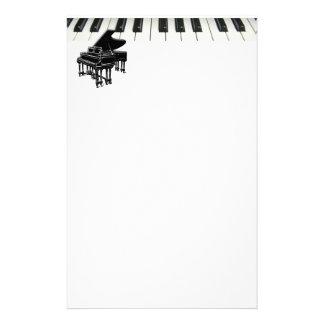Grand Piano Keyboard Stationery