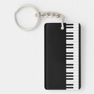 Grand Piano Keychain