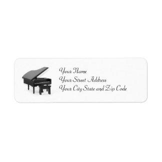 Grand Piano Label