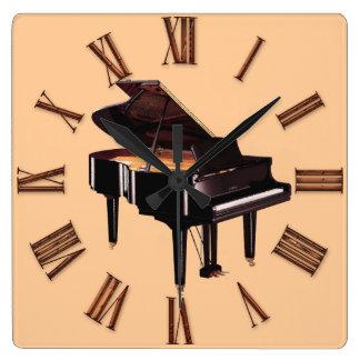 Grand Piano Music-Lover's Wall Clock