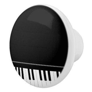 Grand Piano music room themed Ceramic Knob