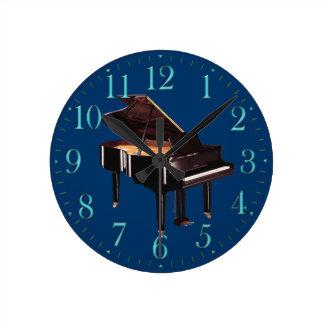 Grand Piano Music-themed Wall Clock