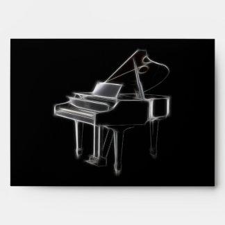 Grand Piano Musical Classical Instrument Envelope